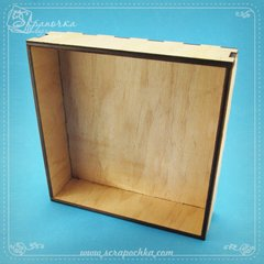 Shadowbox №1, Plywood 4 mm.