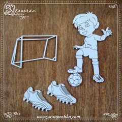 Chipboard Football, Cardboard light 1.6 mm
