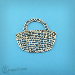 Chipboard Wicker basket, Cardboard light 1.6 mm