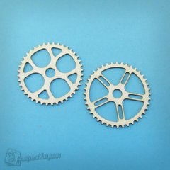 Chipboard Gears, Cardboard light 1.6 mm