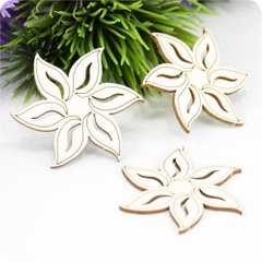 Chipboard Flower, Cardboard light 1.6 mm