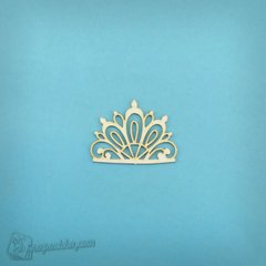 Chipboard Crown, Cardboard light 1.6 mm