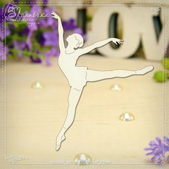 Chipboard Ballerina, Cardboard light 1.6 mm