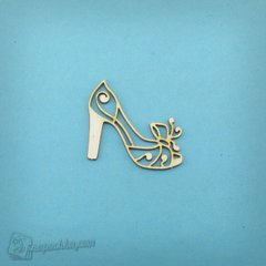 Chipboard Shoe women's, Cardboard light 1.6 mm