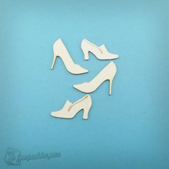 Chipboard Womens shoes, Cardboard light 1.6 mm