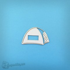 Chipboard Tent camping, Cardboard light 1.6 mm