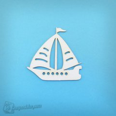 Chipboard Ship, Cardboard light 1.6 mm