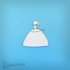 Chipboard Princess, Cardboard light 1.6 mm