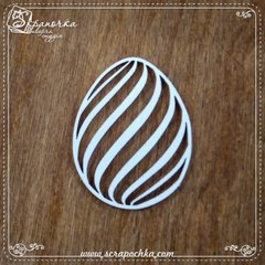Chipboard Easter Egg, Cardboard light 1.6 mm