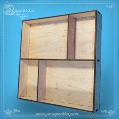 Shadowbox №2, Plywood 4 mm.