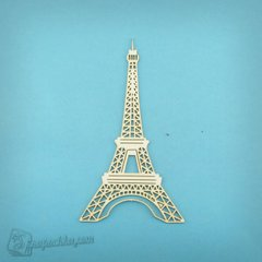 Chipboard Eiffel tower, Cardboard light 1.6 mm